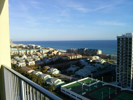 Ariel Dunes at Seascape Resort: Destin FL condo beach view 2