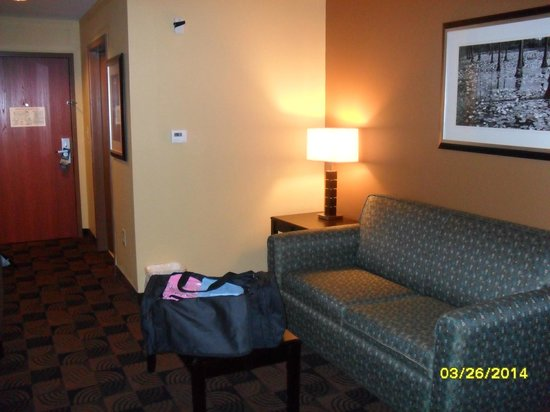BEST WESTERN Motorsports Inn & Suites: Living Room