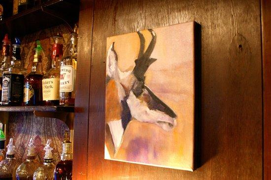 Antelope Bar and Paisley Shawl Restaurant: The Antelope Bar and Restaurant