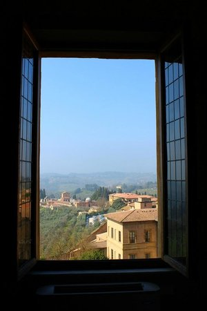 Palazzo Ravizza: View from room 19