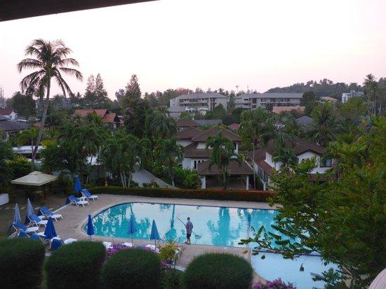 Pen Villa Hotel : Outlook from room