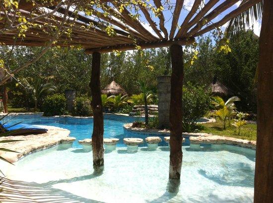 Hotel Villas Delfines: la alberca