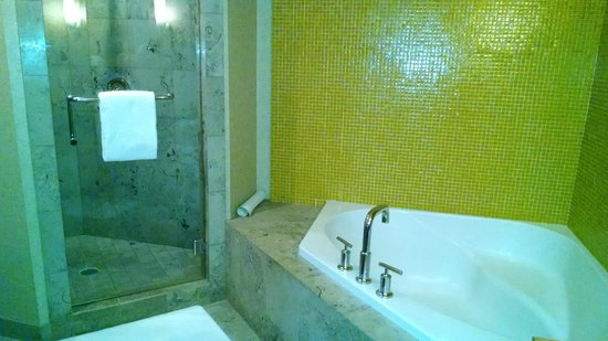 Hotel Deca: Bath tub & shower
