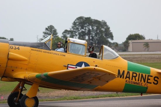 Warbird Adventures: Returning as a happy camper!
