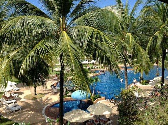 Katathani Phuket Beach Resort : view from our room