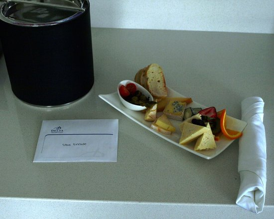 Delta Hotels Fredericton : A treat from the staff
