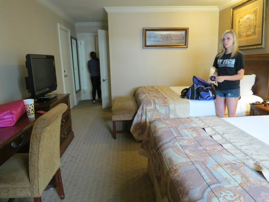 Country Inn & Suites By Carlson, Metairie (New Orleans) : clean and roomy, but a bit damp and musty