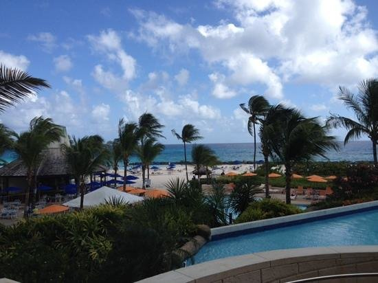 Hilton Barbados Resort: View from the lobby