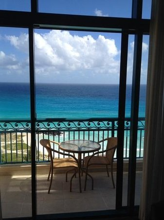Hilton Barbados Resort: View from our room