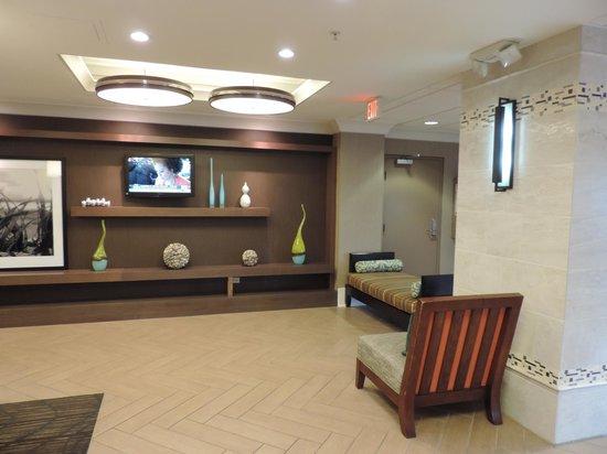 Hampton Inn Jacksonville Beach/Oceanfront: lobby area