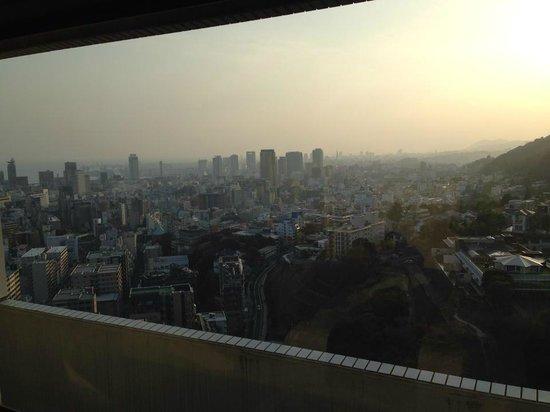 ANA Crowne Plaza Kobe: 翌日の朝、部屋から