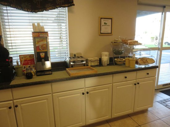 Quality Inn Kennedy Space Center: Small part of breakfast choices
