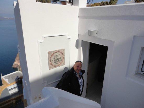 Villa Renos: Entrance to a piece of heaven!