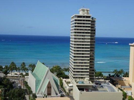 Waikiki Banyan : ラナイからの眺め