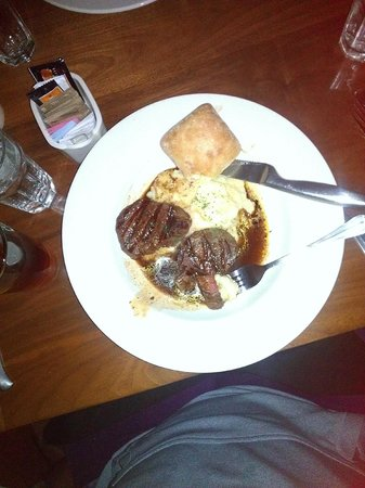 Hops Downtown Grill : Beef Tenderloins and Rosemary Garlic Potatoes