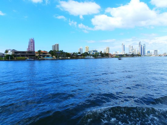 Surfers Paradise River Cruises: View from the cruise.
