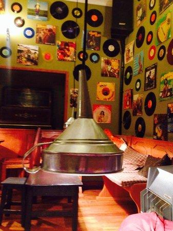 Cafe Bar de la Casa del Corregidor: Casa del corregidor ( adentro del café)