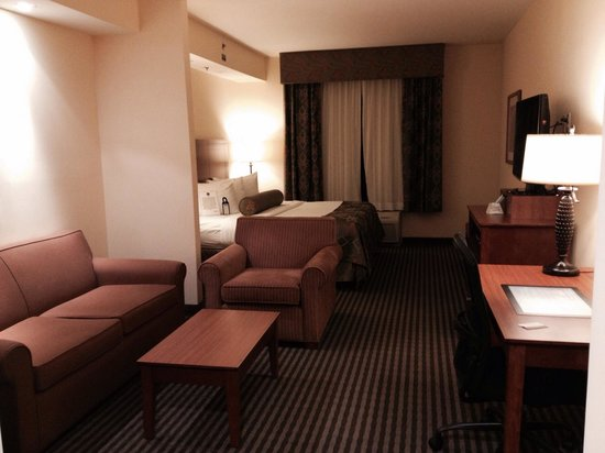 BEST WESTERN PLUS Westgate Inn & Suites: Very spacious king suite