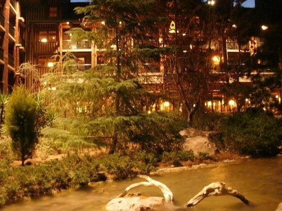 Disney's Wilderness Lodge: Grounds