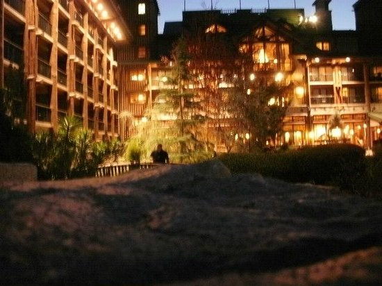 Disney's Wilderness Lodge: Taken from the pool area