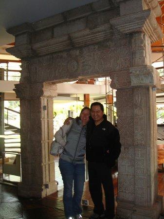 Aranwa Sacred Valley Hotel & Wellness: Ingreso al bar del hotel