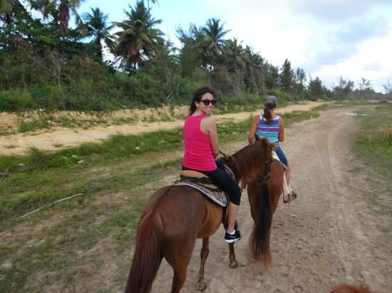 Tropical Trail Rides - Isabela: riding trail