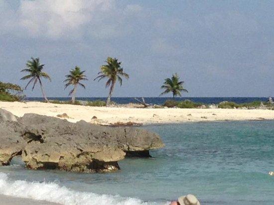 Grand Sirenis Riviera Maya Resort & Spa: Beach/Snorkeling area