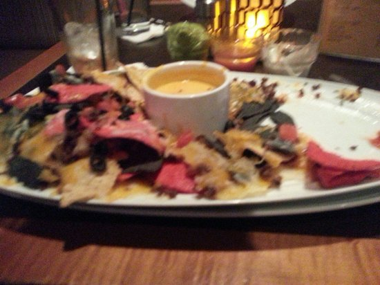 Vanderbilts : This is the small size nacho. Definitely split it.