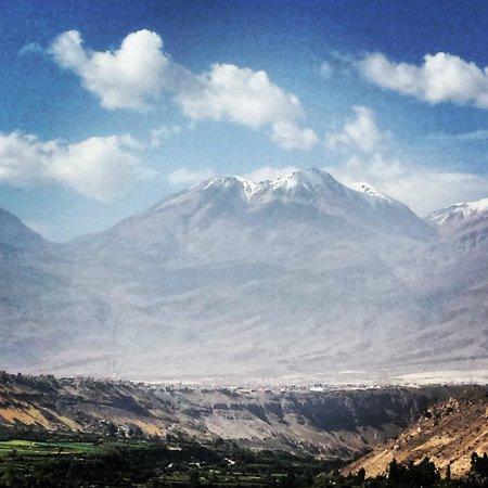 El Misti: Um lindo vulcão