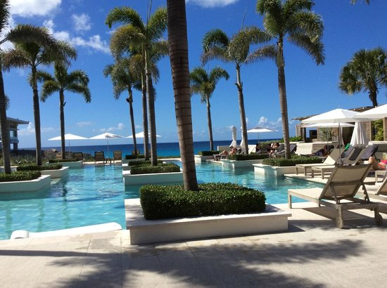 Four Seasons Resort and Residences Anguilla: One of three pools