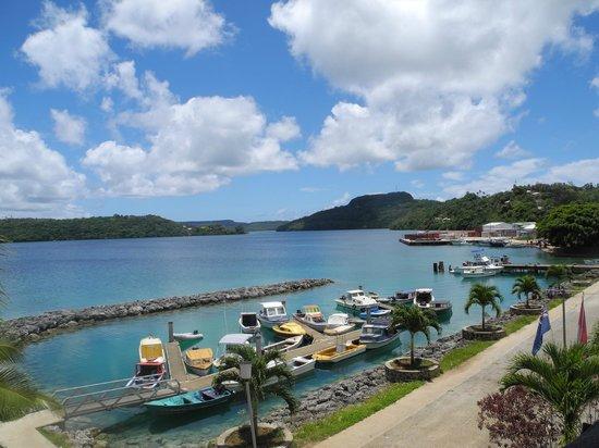 Port Wine Guest House : Neiafu harbour