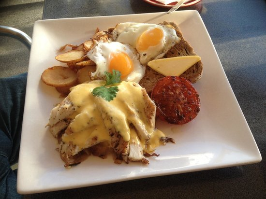 Alfresco's Restaurant and Bar : Fishermans breakfast