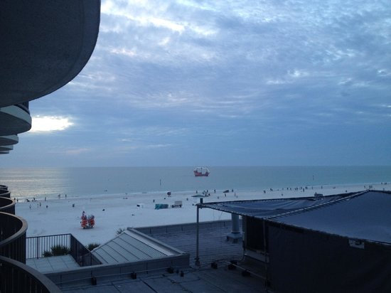 Hilton Clearwater Beach: View from our balcony