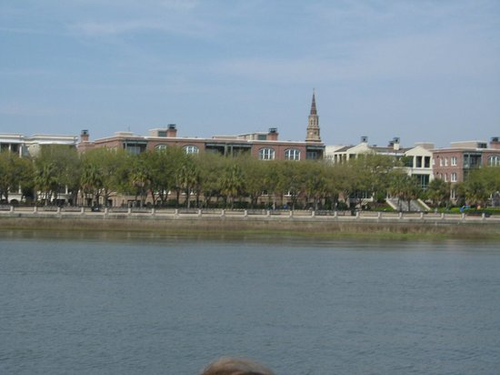 Charleston Harbor Tours: View from boat