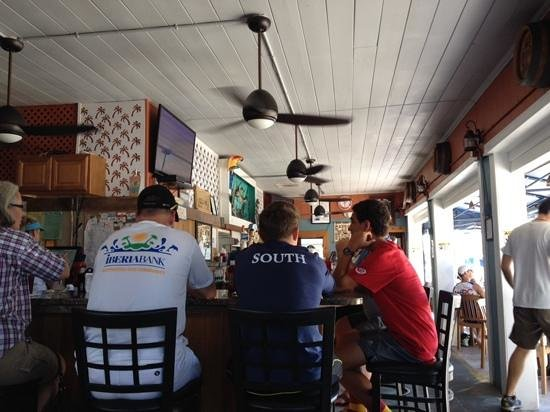 Seven Mile Grill : View of the bar