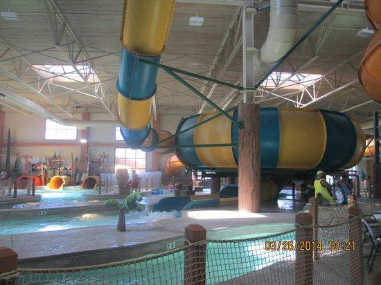Great Wolf Lodge : Whirlpool Slide