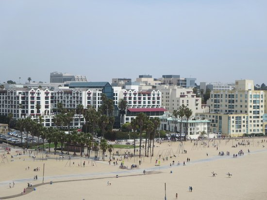 Santa Monica Pier: View from the top