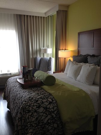 Hotel Indigo Columbus Downtown: Harmonious decor