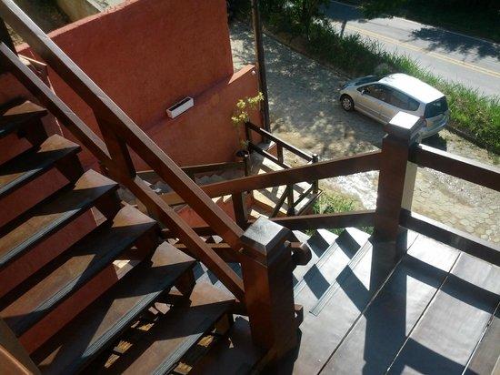 Pousada Fruto do Mar: Escadaria de acesso à pousada