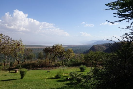 Lake Manyara Serena Lodge : View from room