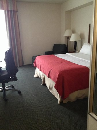 Holiday Inn - Airport Conference Center: Small space but it was more than doable for one person