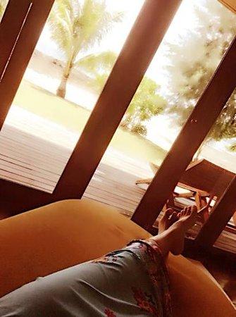 Plubpla Koh Mak Retreat: Relaxing in room 2