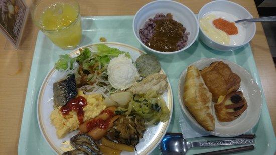 Kagoshima Plaza Hotel Tenmonkan: 朝食