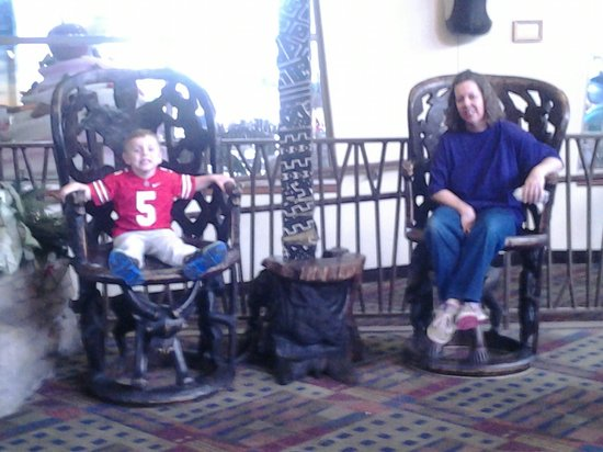 Kalahari Resorts & Conventions : Mamaw and Hayden