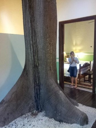 Hacienda San Jose, a Luxury Collection Hotel: Suite with a tree
