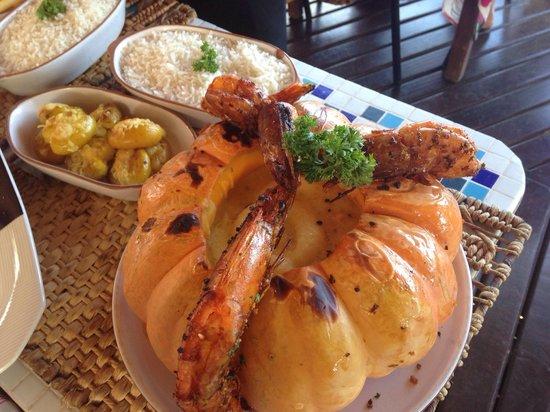 Allmirante Bar & Restaurante: Prato principal