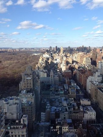 The Pierre, A Taj Hotel, New York : view north from my room