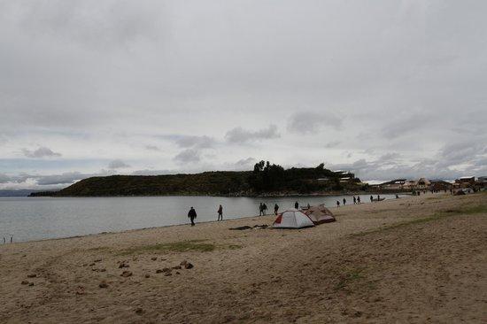 Isla del Sol: Beach
