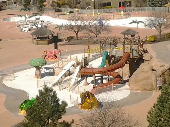 Kalahari Resorts & Conventions: Looking out from our room