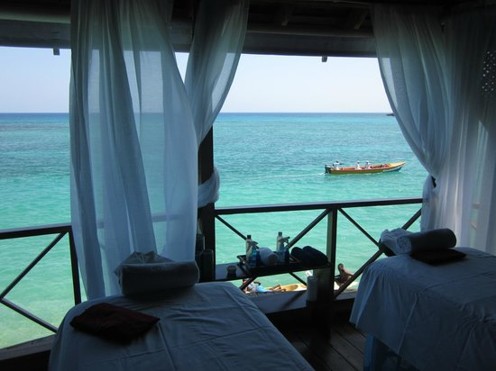 Jamaica Inn : View from the spa